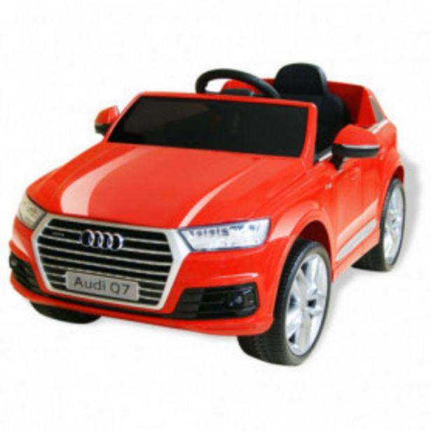 Oferta de Coche eléctrico Audi Q7 rojo 6 V por 198,86€