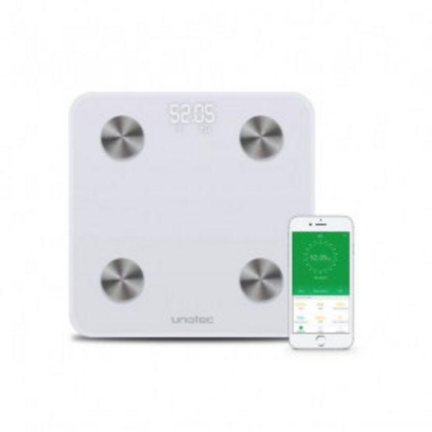 Oferta de Báscula de Baño Bluetooth Unotec Xcale II por 24,99€