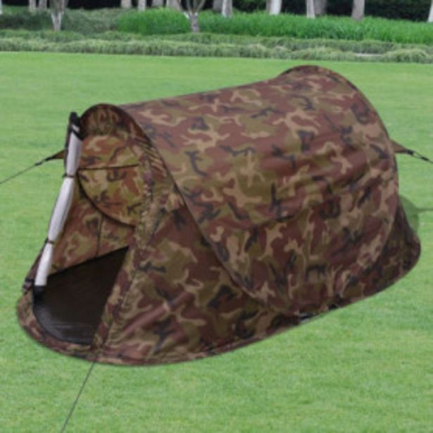 Oferta de Tienda de camuflage Pop-up 2 personas por 43,35€