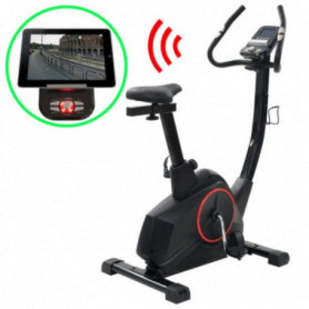 Oferta de Bicicleta estática magnética con pulsómetro programable por 319,49€