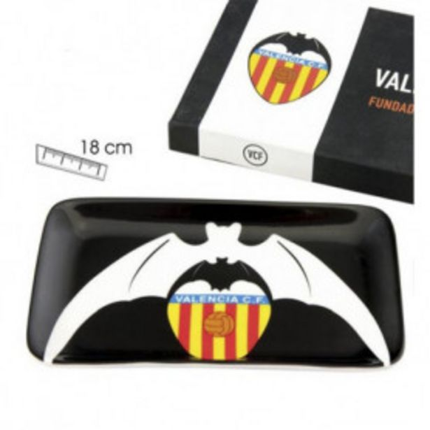 Oferta de Valencia cf bandeja porcelana escudo murcielago 10/754 por 2,99€