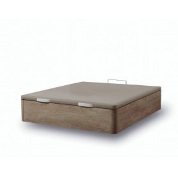 Oferta de Canapé abatible de madera Fenix Cambrian con marco tapizado en polipiel (Subida y Montaje incluido) por 260,99€