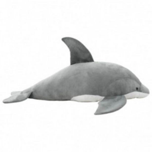 Oferta de Delfín de peluche gris por 61,26€