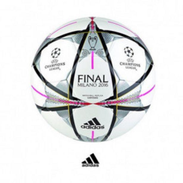 Oferta de Balón ADIDAS VINTAGE Final Champions League Real Madrid- Atl. Madrid (Milán) por 28,99€