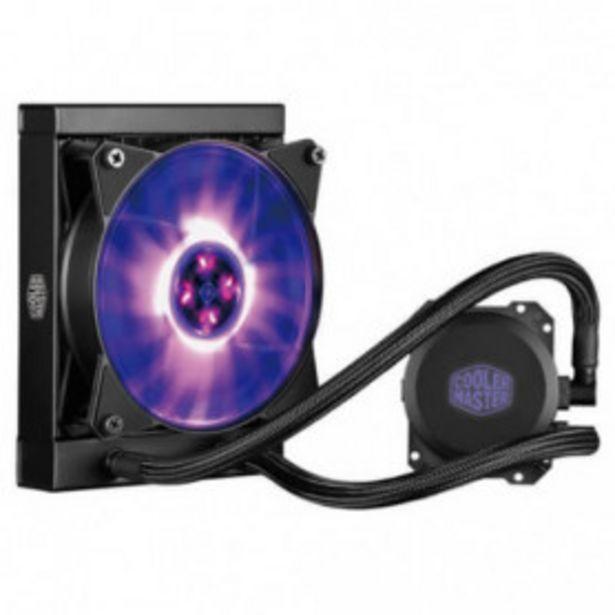 Oferta de REFRIGERACION LIQUIDA CPU COOLER MASTER MASTERLIQUID ML120L  RGB por 62,99€