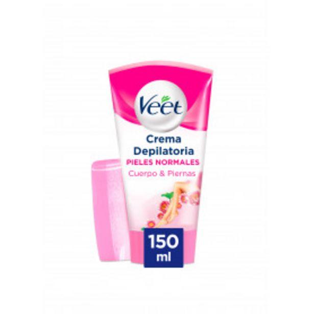 Oferta de Veet Crema Depilatoria Corporal Bajo la ducha para Mujer - Piel Normal 150ml por 11€