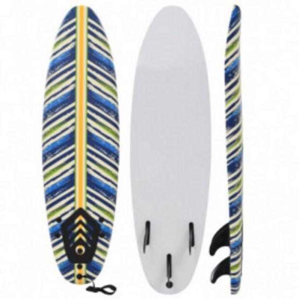 Oferta de Tabla de surf 170 cm hojas por 104,61€