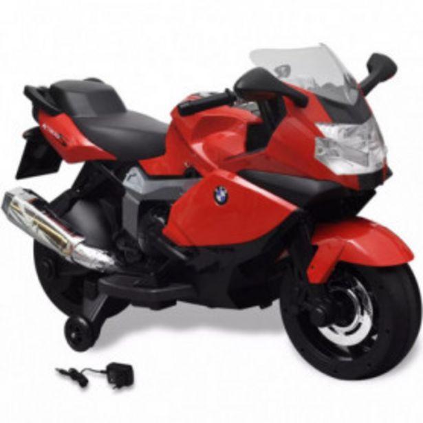 Oferta de Moto eléctrica de juguete color rojo, modelo BMW 283 6 V por 205,45€