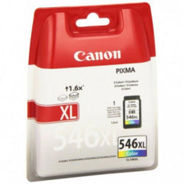 Oferta de TINTA CANON CL546XL TRICOLOR C/M/Y por 25,99€