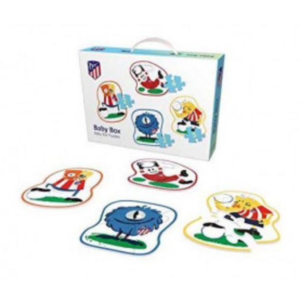 Oferta de Atletico de madrid baby box puzzles por 6,99€