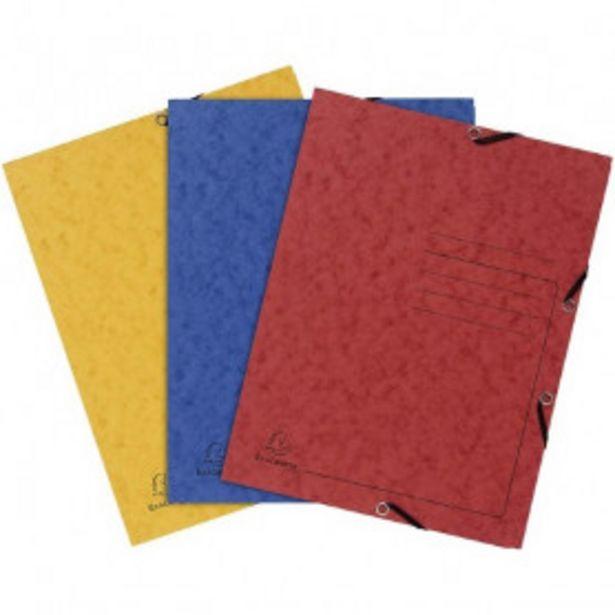 Oferta de Carpeta Exacompta 55432E Elásticas (3 pcs) (Reacondicionado A+) por 8,99€
