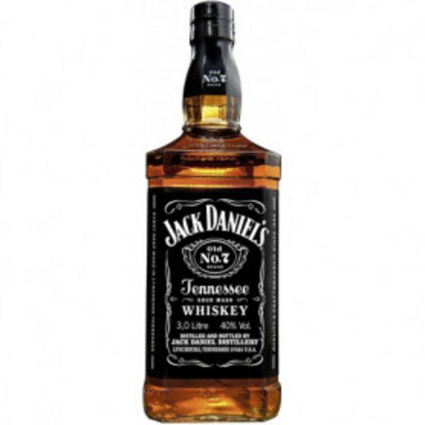 Oferta de Whisky Jack Daniel's por 21,99€