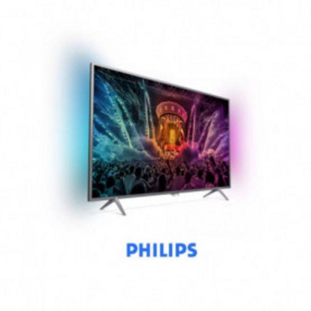 Oferta de Televisor 4K ultraplano con tecnología Android TV 49PUS6501/12 Philips por 699,99€