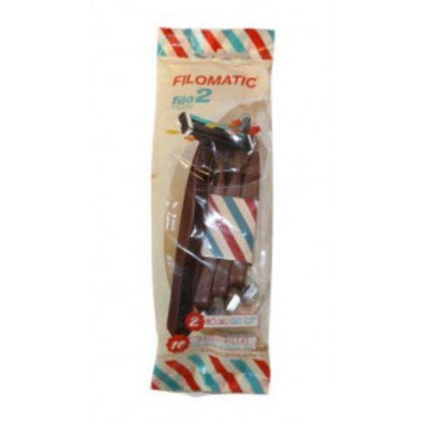 Oferta de Pack 10 Maquinillas Filomatic Filo2 2 Hojas por 1,5€