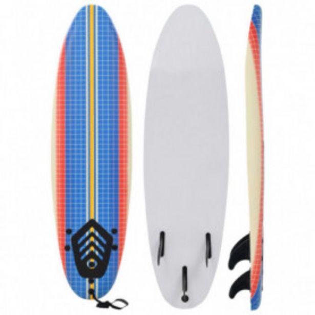 Oferta de Tabla de surf 170 cm mosaico por 104,61€