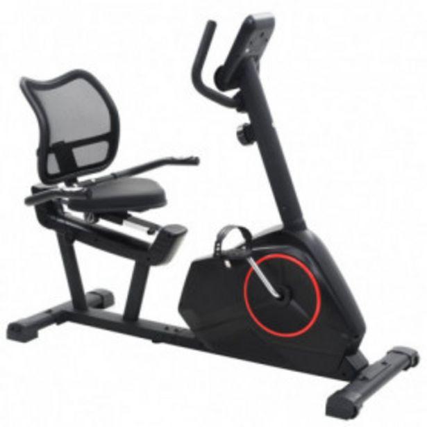 Oferta de Bicicleta estática reclinada magnética con pulsómetro por 311,95€