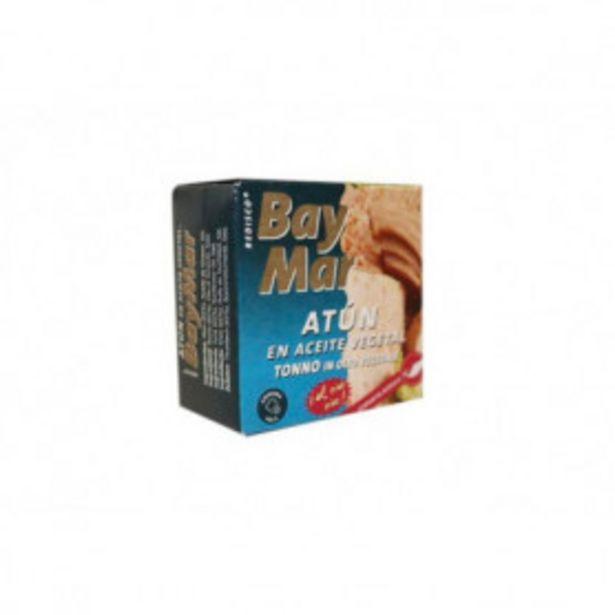 Oferta de BAYMAR ATUN EN ACEITE VEGETAL 77G por 0,94€
