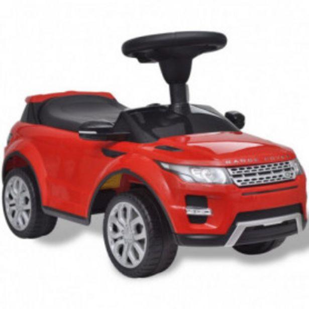 Oferta de Coche de juguete rojo con música, modelo Land Rover 348 por 65,96€