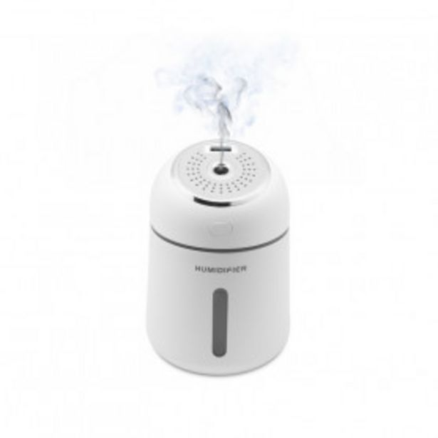 Oferta de Humidificador con Lámpara LED y Ventilador Unotec por 19,99€