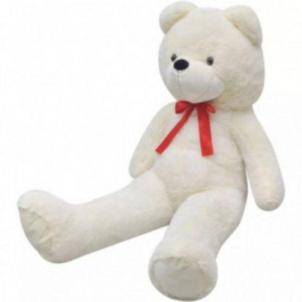 Oferta de Oso de peluche blanco 170 cm por 70,68€