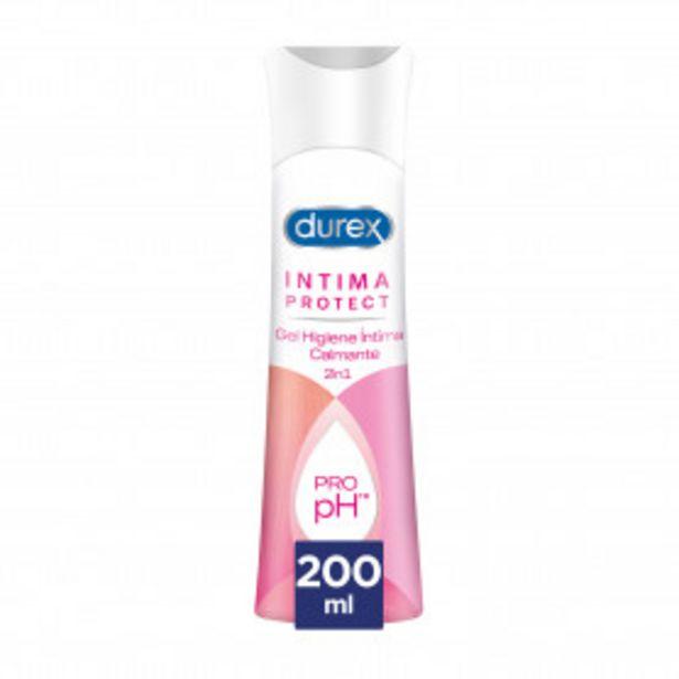 Oferta de Durex Intima Protect Gel Higiene Intima Calmante 200 ml por 6,53€