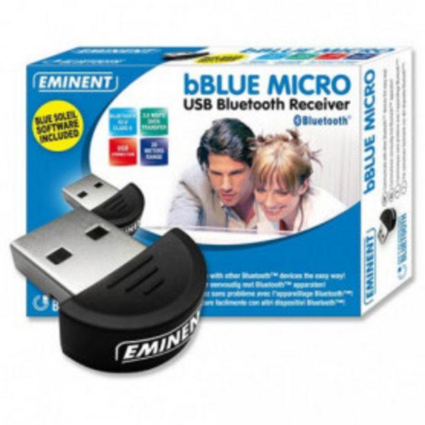 Oferta de ADAPTADOR BLUETOOTH EWENT EW1085 USB2.0 BT2.0 por 12,99€