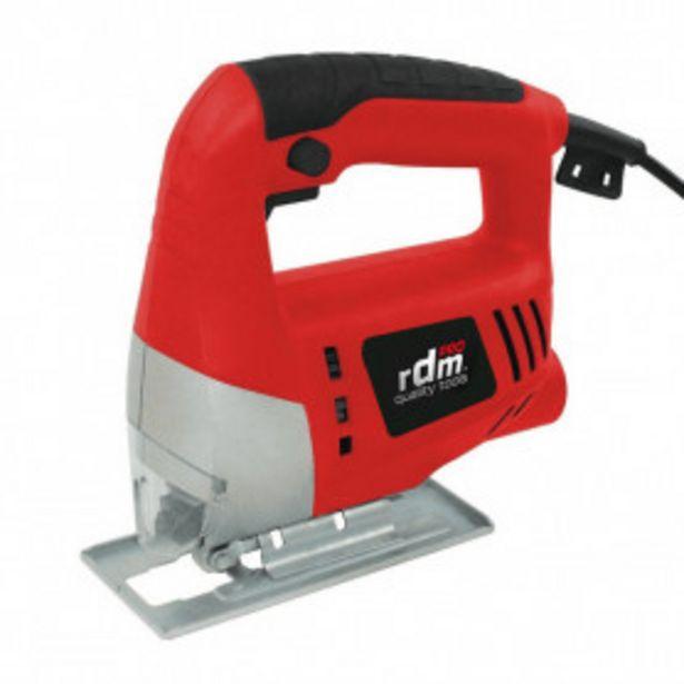Oferta de Sierra de Calar 710W Corte 65mm RDM PRO Quality Tools por 26,99€