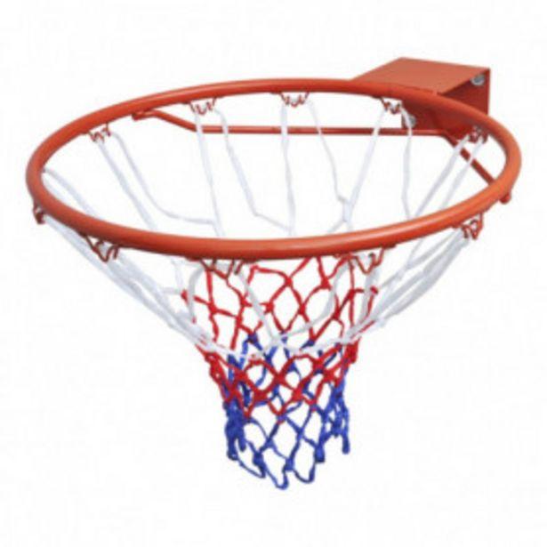 Oferta de Canasta de baloncesto con red naranja 45 cm por 31,09€