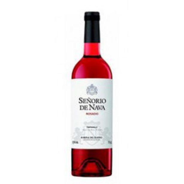 Oferta de Señorio de nava vino rosado tempranillo ribera del duero por 2,99€