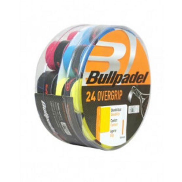 Oferta de Cubo Overgrips Bullpadel 24 unidades GB1605 por 19,99€