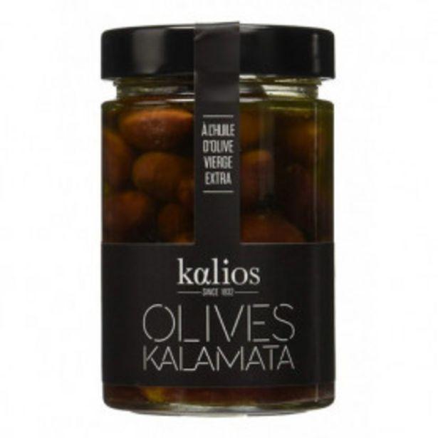 Oferta de Aceitunas Kalamata En Aceite De Oliva Virgen Extra 310gr. por 6,99€