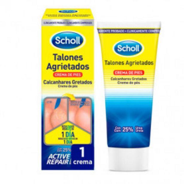 Oferta de Scholl Crema de Pies Para Talones Agrietados, con Urea y Keratina - Crema 60ml por 7,54€