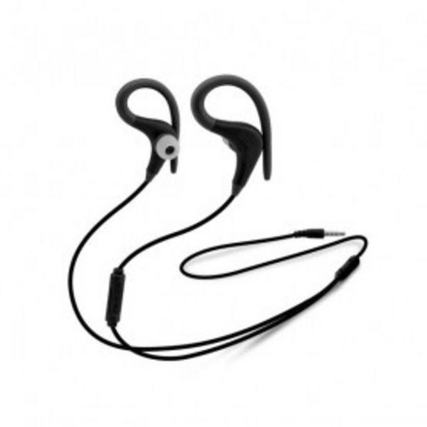 Oferta de Auriculares Deportivos Unotec Max-Running Negro por 9,99€