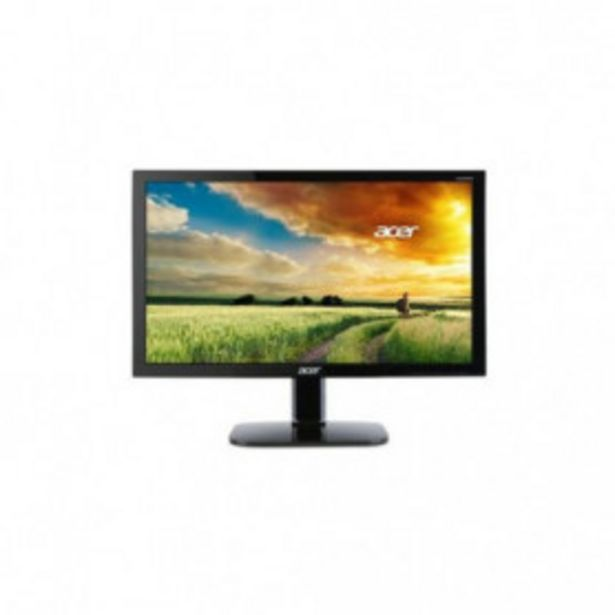 """Oferta de MONITOR 23.6""""FHD ACER KA240HQBBID 1920X1080 HDMI/DVI/VGA NEGRO por 131,99€"""