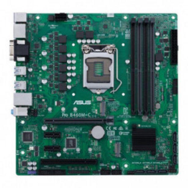 Oferta de PLACA ASUS PRO B460M-C/CSM INTEL1200 4DDR4 HDMI PCIE3.0 6SATA3 USB3.2 MATX por 103,99€