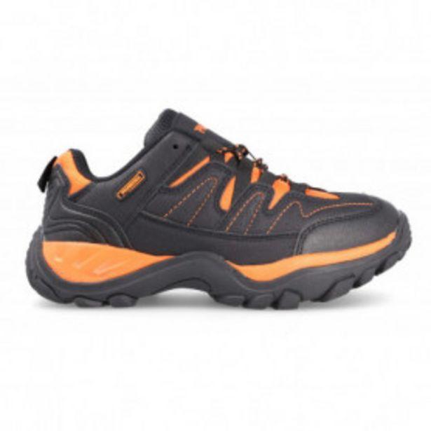 Oferta de Zapatillas Trekking Junior Nerja Paredes Negro-naranja LT21504 por 20,99€
