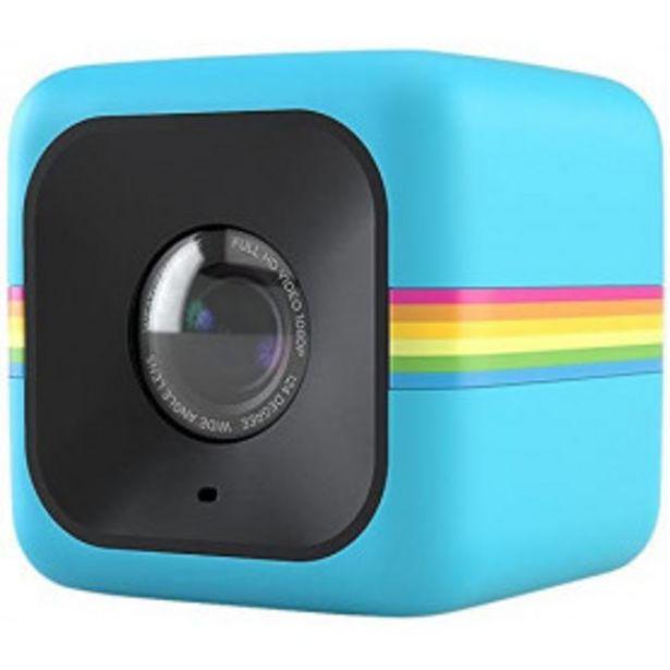 Oferta de Videocámara de acción Polaroid Cube HD 1080p Azul por 74,99€