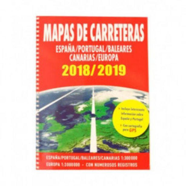 Oferta de MAPAS DE CARRETERAS ESPAÑA-PORTUGAL-EUROPA 2018-2019 por 0,99€