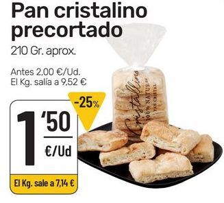 Oferta de Pan por 1,5€