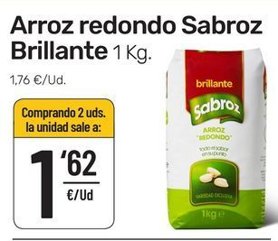 Oferta de Arroz redondo Brillante por 1,62€