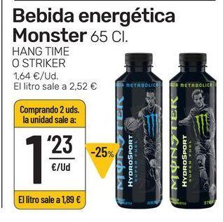 Oferta de Bebida energética Monster por 1,23€