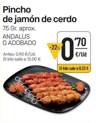 Oferta de Pinchos morunos por 0,7€