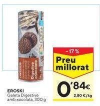 Oferta de Galletas Digestive eroski por 0,84€