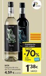 Oferta de Vino Nox por 4,59€