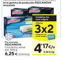 Oferta de Merluza Pescanova por 6,25€