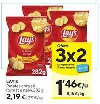 Oferta de Patatas chips Lay's por 2,19€