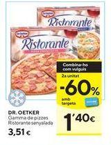 Oferta de Pizza Dr Oetker por 3,51€