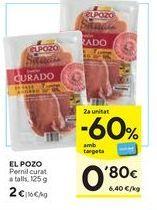 Oferta de Jamón elpozo por 2€