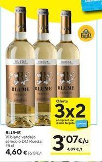 Oferta de Vino blanco Blume por 4,6€