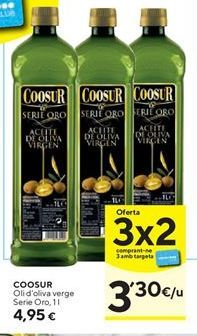 Oferta de Aceite de oliva Coosur por 4,95€